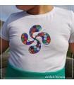 Camiseta Lauburu Colores