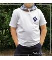 Camiseta Lauburu Azul