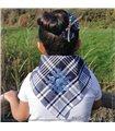 Pañuelo Eguzkilore Azul